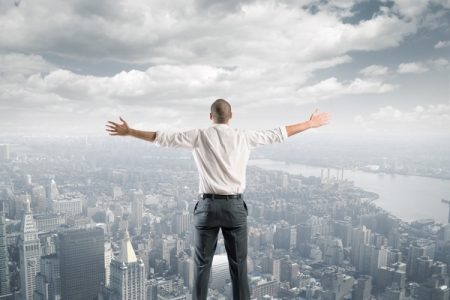 Concept of success of a freedom businessman